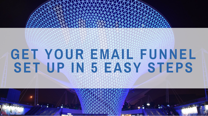 Get Your Email Funnel Set Up in 5 Easy Steps